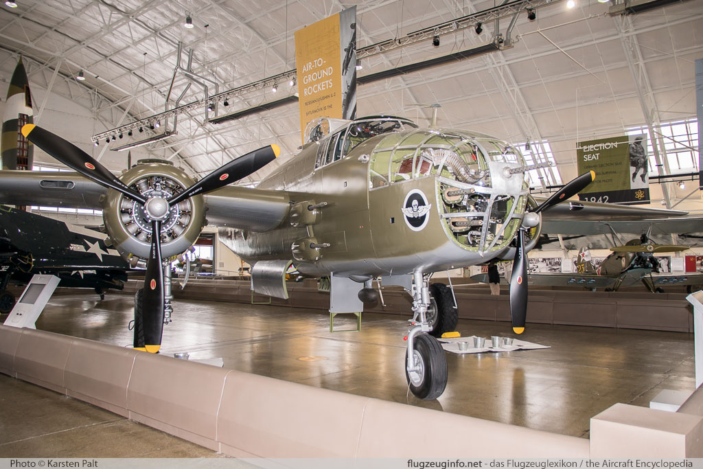 North American B-25J Mitchell Flying Heritage Collection N41123 108-33529 Flying Heritage Collection Everett, WA 2016-04-12 � Karsten Palt, ID 12378