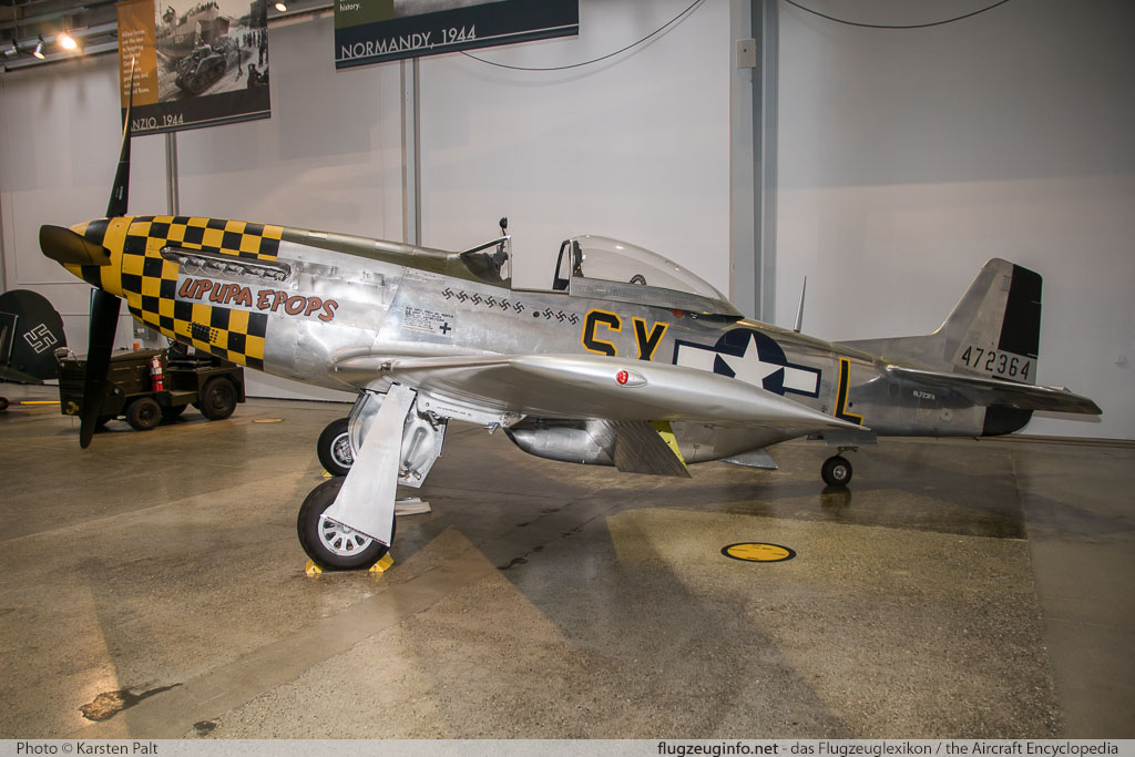 North American P-51D Mustang Flying Heritage Collection N723FH 122-38823 Flying Heritage Collection Everett, WA 2016-04-12 � Karsten Palt, ID 12381