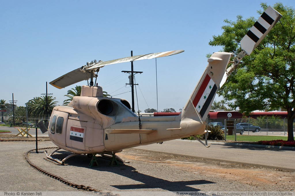 Bell Helicopter 214ST Iraqi Air Force 5722 28166 Flying Leatherneck Aviation Museum San Diego, CA 2012-06-13 � Karsten Palt, ID 5871