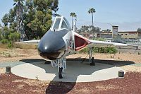 Douglas F-6A Skyray  United States Marine Corps (USMC) 139177 11251 Flying Leatherneck Aviation Museum San Diego, CA 2012-06-13, Photo by: Karsten Palt