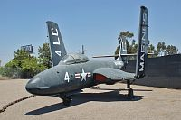McDonnell F2H-2 Banshee United States Marine Corps (USMC) 124988 291 Flying Leatherneck Aviation Museum San Diego, CA 2012-06-13, Photo by: Karsten Palt