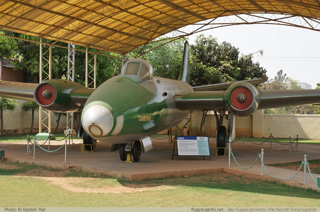 BAC / English Electric Canberra B(I).58 Indian Air Force BF-597 EEP-005 HAL Heritage Centre & Aerospace Museum Bangalore 2012-03-26 � Karsten Palt, ID 4504