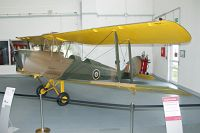 De Havilland DH 82A Tiger Moth II  D-EDAH 83105 Hangar 10 Usedom 2014-07-28, Photo by: Karsten Palt