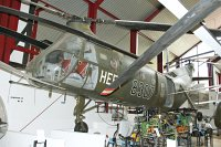Piasecki H-21C German Army Aviation / Heer 83+07 WG7 Hubschraubermuseum Bueckeburg Bueckeburg 2013-09-01, Photo by: Karsten Palt