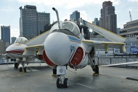 Grumman A-6F Intruder United States Navy 162185 I-678 Intrepid Air, Space & Sea Museum New York City, NY 2014-03-09, Photo by: Karsten Palt
