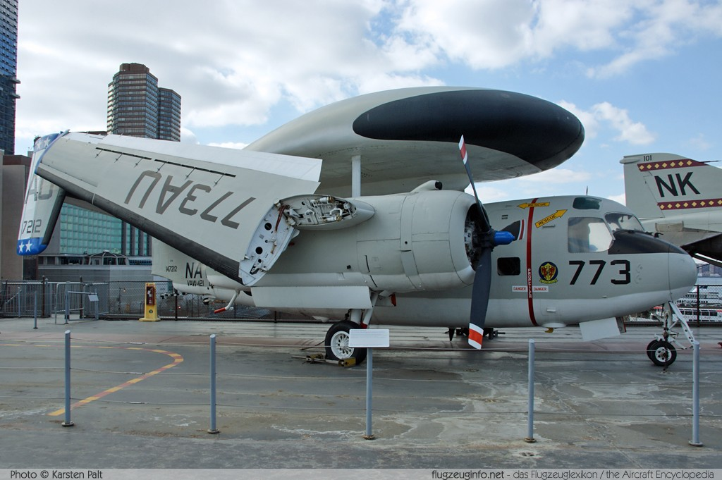 Grumman E-1B Tracer United States Navy 147212 11 Intrepid Air, Space & Sea Museum New York City, NY 2014-03-09 � Karsten Palt, ID 7886