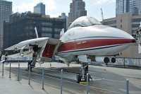 Grumman F-14D Super Tomcat United States Navy 157986 7/P-1 Intrepid Air, Space & Sea Museum New York City, NY 2014-03-09, Photo by: Karsten Palt