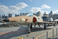 IAI F-21A Kfir Israelian Air Force 999734  Intrepid Air, Space & Sea Museum New York City, NY 2014-03-09, Photo by: Karsten Palt