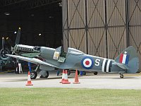 Supermarine Spitfire F.R. Mk.18E, The Fighter Collection, G-BRAF, c/n 6S/663052,© Karsten Palt, 2008