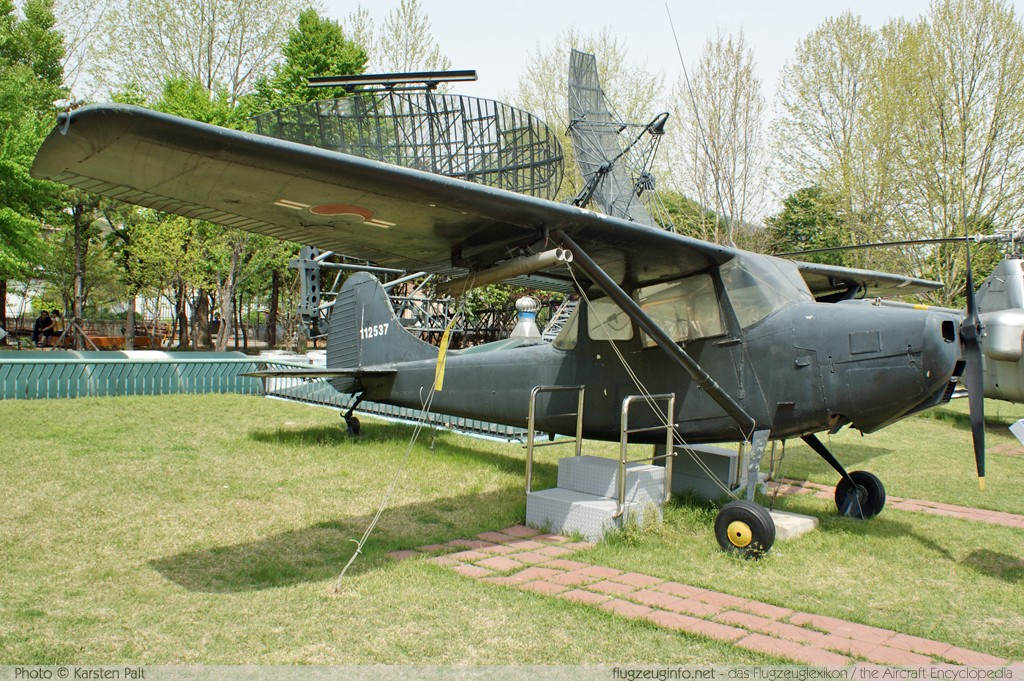 Cessna O-1A Bird Dog (305A/L-19A) Republic of Korea Army 11-2537  The War Memorial of Korea Seoul 2012-04-29 � Karsten Palt, ID 5589