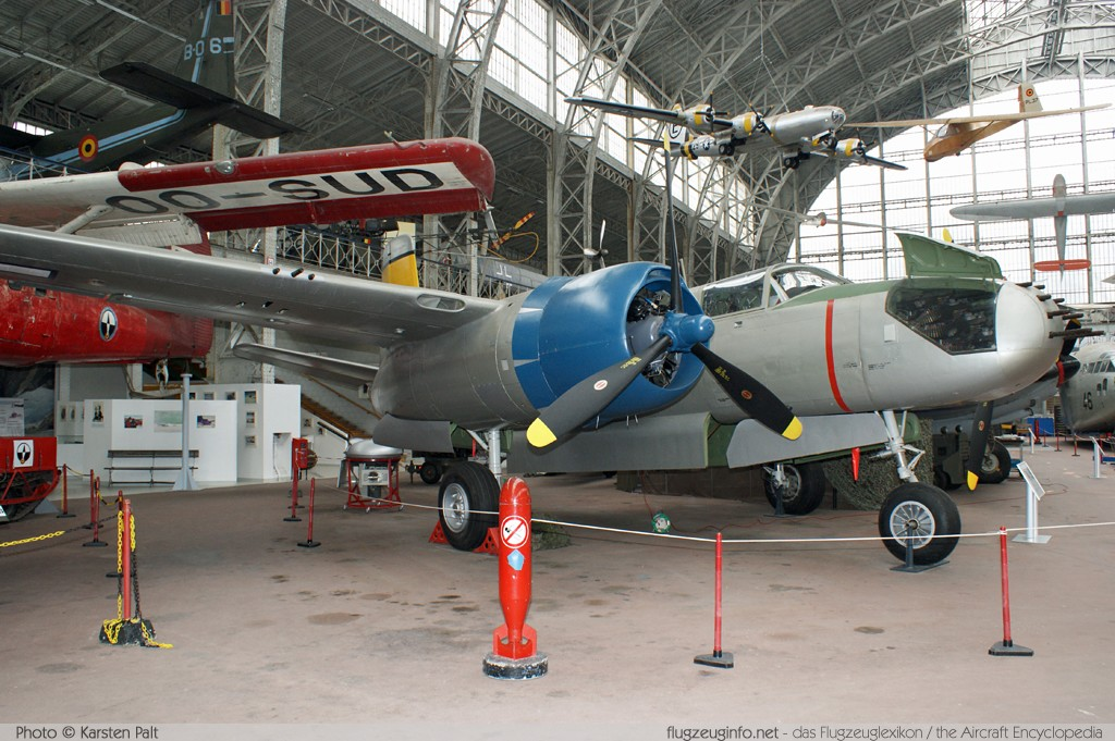 Douglas A-26B Invader United States Army Air Forces (USAAF) 44-34765 28044 Koninklijk Legermuseum Brussel 2013-04-01 � Karsten Palt, ID 6495