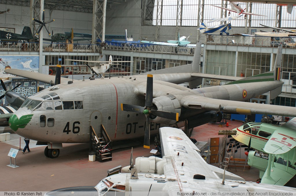 Fairchild C-119G Flying Boxcar Belgian Air Force CP-46 254 Koninklijk Legermuseum Brussel 2013-04-01 � Karsten Palt, ID 6507