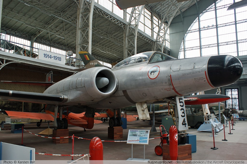 AVRO Canada CF-100 Mk 5 Canuck Royal Canadian Air Force 18534 434 Koninklijk Legermuseum Brussel 2013-04-01 � Karsten Palt, ID 6512