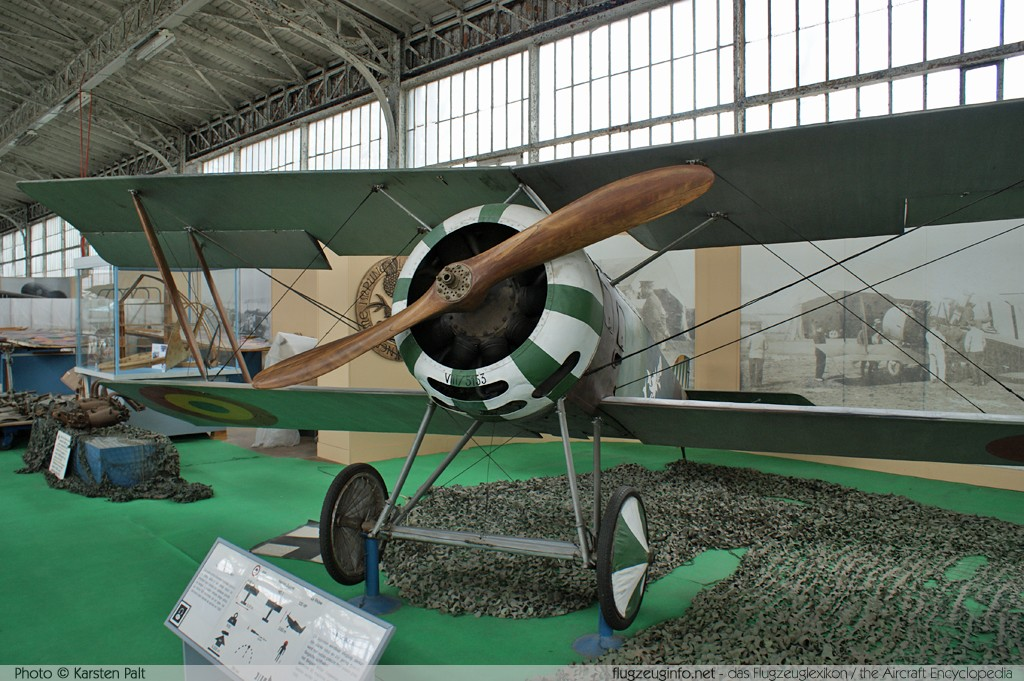 Hanriot HD.1 Belgian Air Force HD-78 VIII/5153 Koninklijk Legermuseum Brussel 2013-04-01 � Karsten Palt, ID 6534