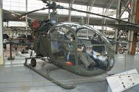 Aerospatiale SE-3130 Alouette II Belgian Army Aviation A11 1535/C266 Koninklijk Legermuseum Brussel 2013-04-01, Photo by: Karsten Palt