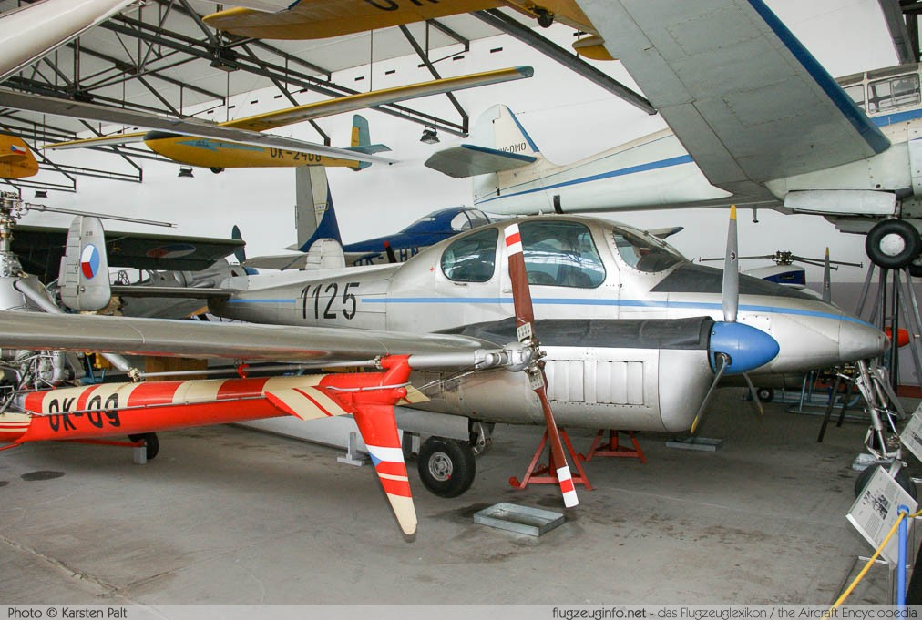 Let L-200D Morava Czechoslovak Air Force 1125 171125 Letecke Muzeum Kbely Prague 2014-06-08 � Karsten Palt, ID 10510