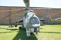 Mil Mi-24D Czech Air Force 0220 340220 Letecke Muzeum Kbely Prague 2014-06-08, Photo by: Karsten Palt