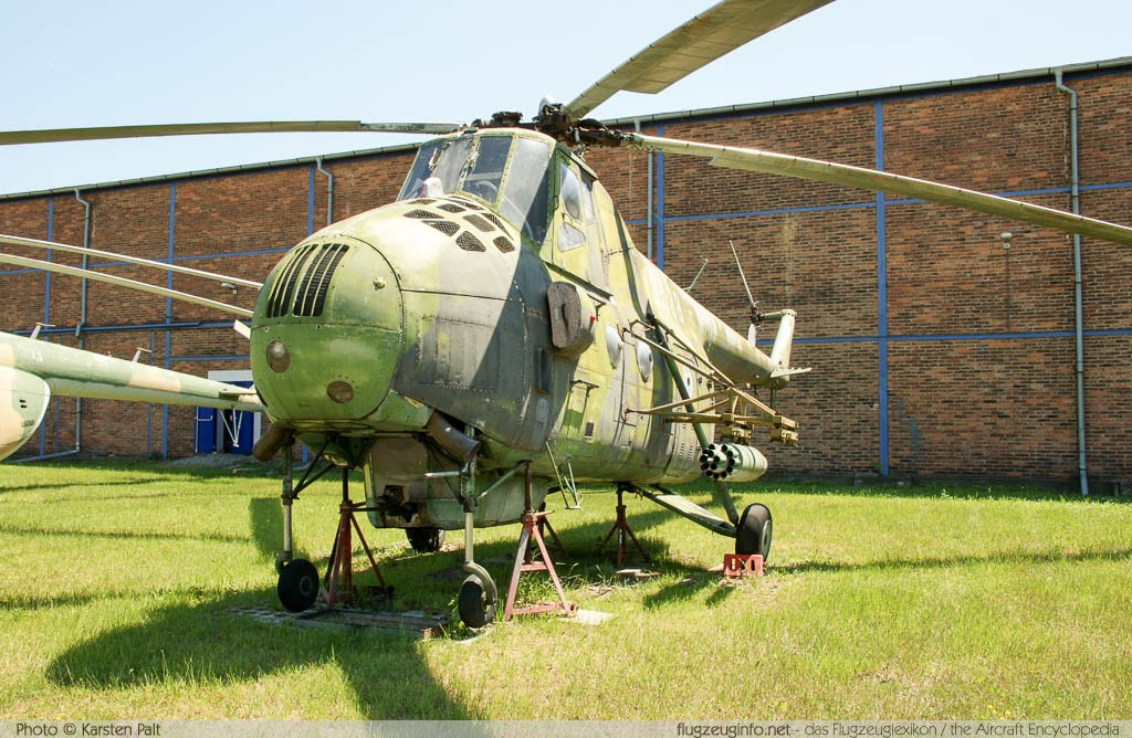 Mil Mi-4 Czechoslovak Air Force 0538 20138 Letecke Muzeum Kbely Prague 2014-06-08 � Karsten Palt, ID 10542