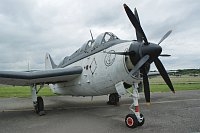 Fairey Gannet AS MK. 4, German Navy / Marine, UA+110, c/n F.9391,© Karsten Palt, 2010