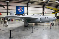 Bell P-59A Airacomet United States Air Force (USAF) 44-22614 27-22 March Field Air Museum Riverside, CA 2015-06-04, Photo by: Karsten Palt