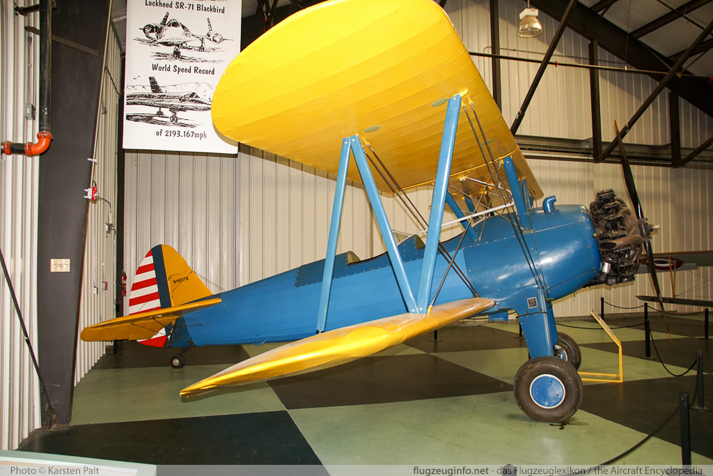 Boeing / Stearman E75 PT-13D Kaydet, United States Army Air Forces