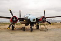 Douglas A-26C Invader United States Air Force (USAF) 44-35224 28503 March Field Air Museum Riverside, CA 2015-06-04, Photo by: Karsten Palt