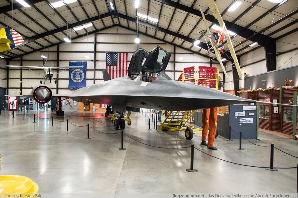 Lockheed SR-71A Blackbird United States Air Force (USAF) 61-7975 2026 March Field Air Museum Riverside, CA 2015-06-04 � Karsten Palt, ID 11311