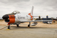 North American F-86L Sabre United States Air Force (USAF) 50-0560 165-106 March Field Air Museum Riverside, CA 2015-06-04, Photo by: Karsten Palt