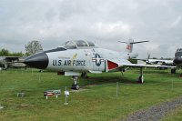 McDonnell F-101B Voodoo United States Air Force (USAF) 56-0312 408 Midland Air Museum Coventry 2013-05-17, Photo by: Karsten Palt