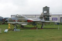 Hawker Hunter F.6A Royal Air Force XF382 S4/U/3282 Midland Air Museum Coventry 2013-05-17, Photo by: Karsten Palt