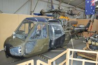 Westland Scout AH.1 Royal Army Air Corps XR635 F9535 Midland Air Museum Coventry 2013-05-17, Photo by: Karsten Palt