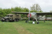 De Havilland Canada U-6A Beaver (DHC-2) United States Army 58-2062 1394 Midland Air Museum Coventry 2013-05-17, Photo by: Karsten Palt