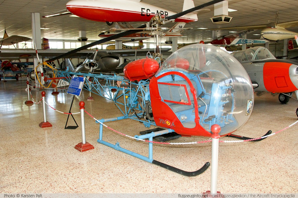 Agusta-Bell AB-47G-2 Spanish Air Force HE.7-13 278 Museo del Aire Madrid 2014-10-23 � Karsten Palt, ID 10595