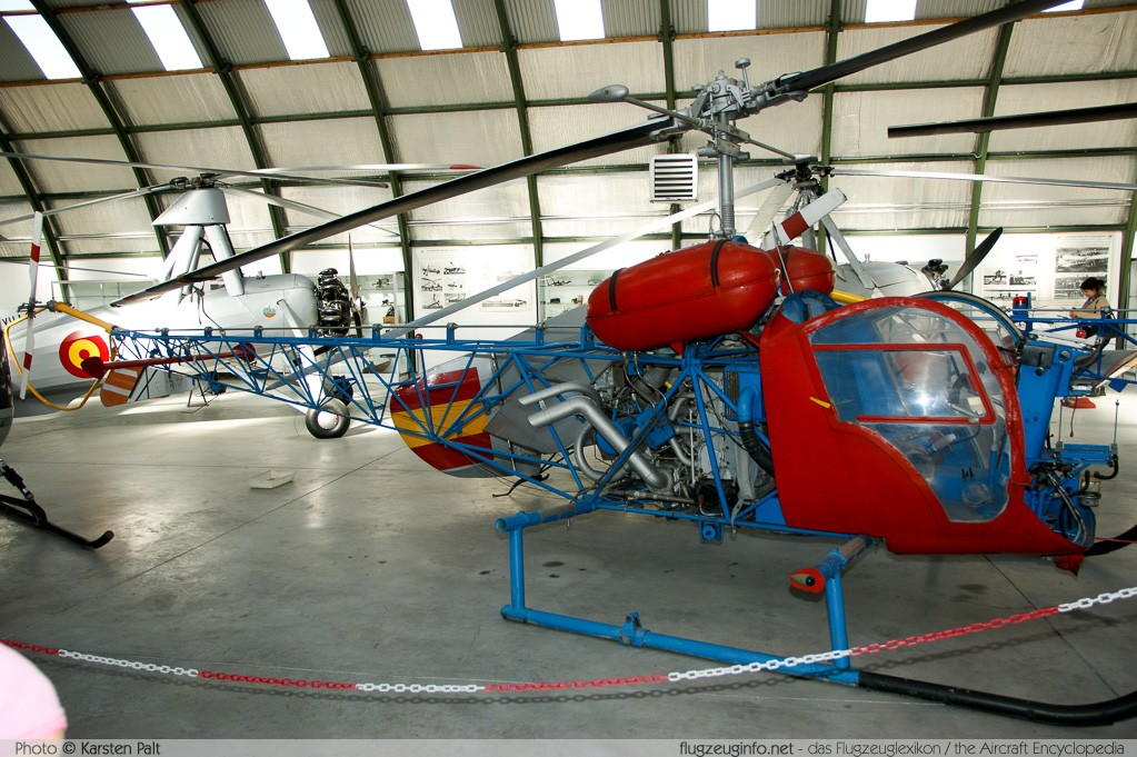 Agusta-Bell AB-47G-3B Spanish Air Force HE.7B-21 1512 Museo del Aire Madrid 2014-10-23 � Karsten Palt, ID 10597