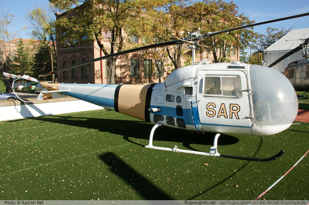 Agusta-Bell AB-47J-3 Ranger Spanish Air Force HD.11-1 2094 Museo del Aire Madrid 2014-10-23 � Karsten Palt, ID 10598