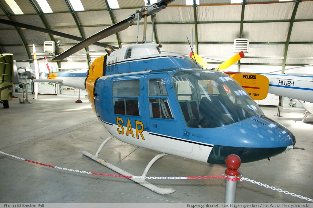 Agusta-Bell AB206A-1 JetRanger Spanish Air Force HR.12-3 8136 Museo del Aire Madrid 2014-10-23 � Karsten Palt, ID 10600