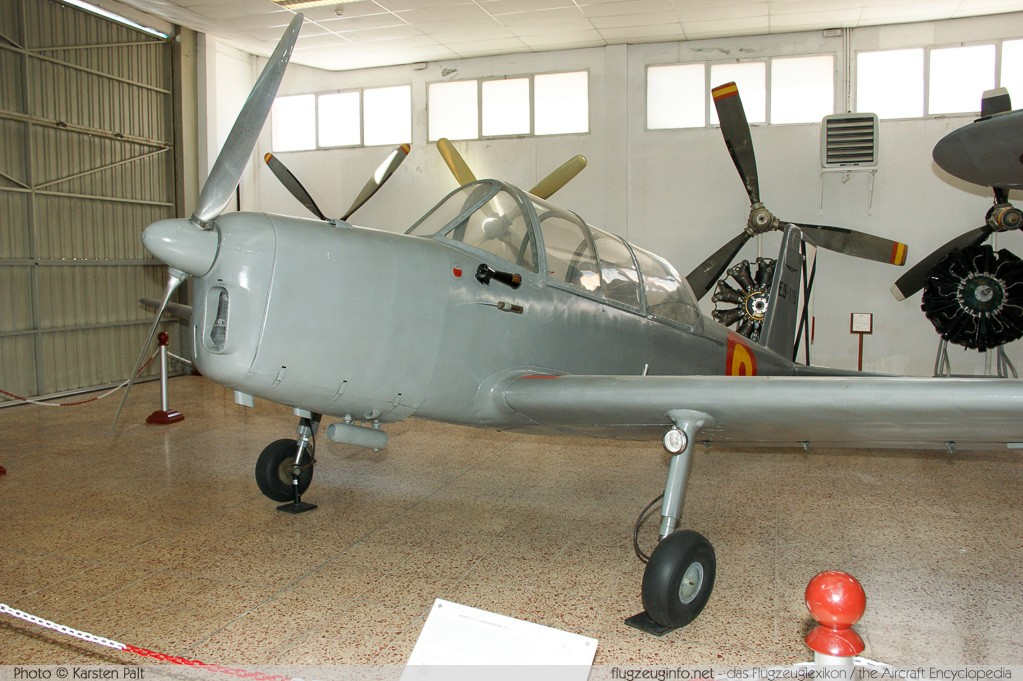 AISA I-115 / E.9 Spanish Air Force E.9-119 119 Museo del Aire Madrid 2014-10-23 � Karsten Palt, ID 10603