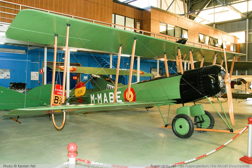 Avro 504K Spanish Air Force M-MABE  Museo del Aire Madrid 2014-10-23 � Karsten Palt, ID 10607
