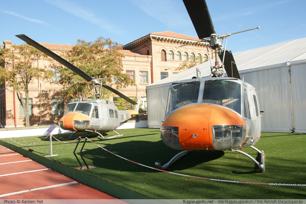 Bell Helicopter 205 UH-1H Spanish Air Force HE.10B-52 13552 Museo del Aire Madrid 2014-10-23 � Karsten Palt, ID 10612