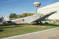 Junkers Ju 52/3m (CASA 352L) Spanish Air Force T.2B-211 102 Museo del Aire Madrid 2014-10-23, Photo by: Karsten Palt