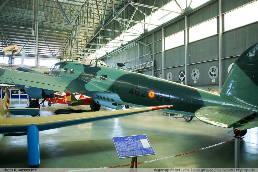 CASA C-2.111F Spanish Air Force T.8B-97 108 Museo del Aire Madrid 2014-10-23 � Karsten Palt, ID 10635
