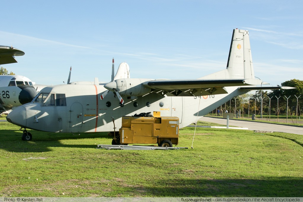 CASA C-212-10 Spanish Air Force XT.12-1 P1 Museo del Aire Madrid 2014-10-23 � Karsten Palt, ID 10637