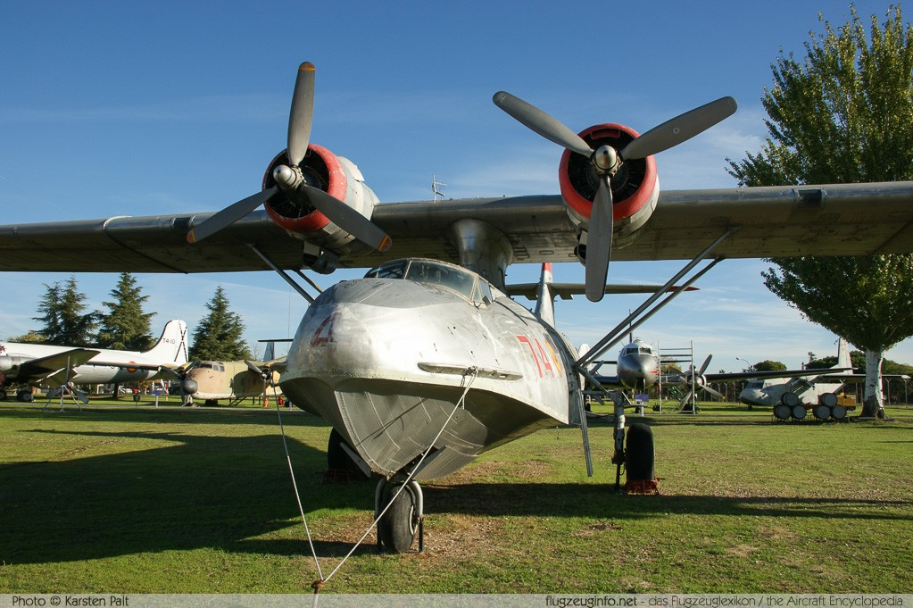 Consolidated PBY-5A Catalina Spanish Air Force EC-693 1960 Museo del Aire Madrid 2014-10-23 � Karsten Palt, ID 10648
