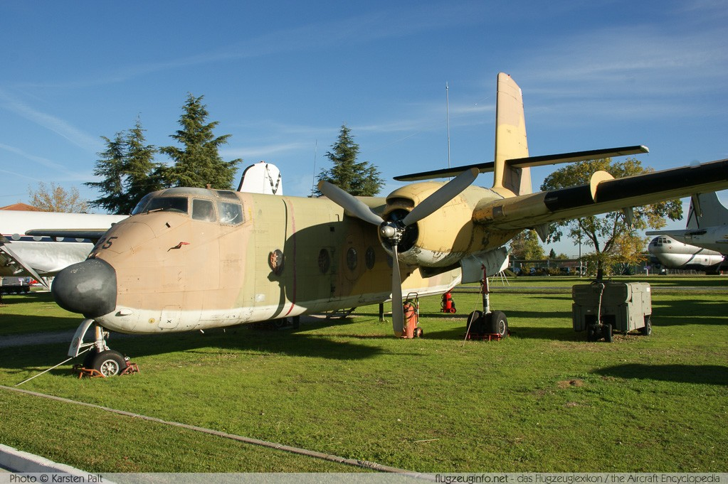 De Havilland Canada C-7A Caribou Spanish Air Force T.9-25 53 Museo del Aire Madrid 2014-10-23 � Karsten Palt, ID 10663