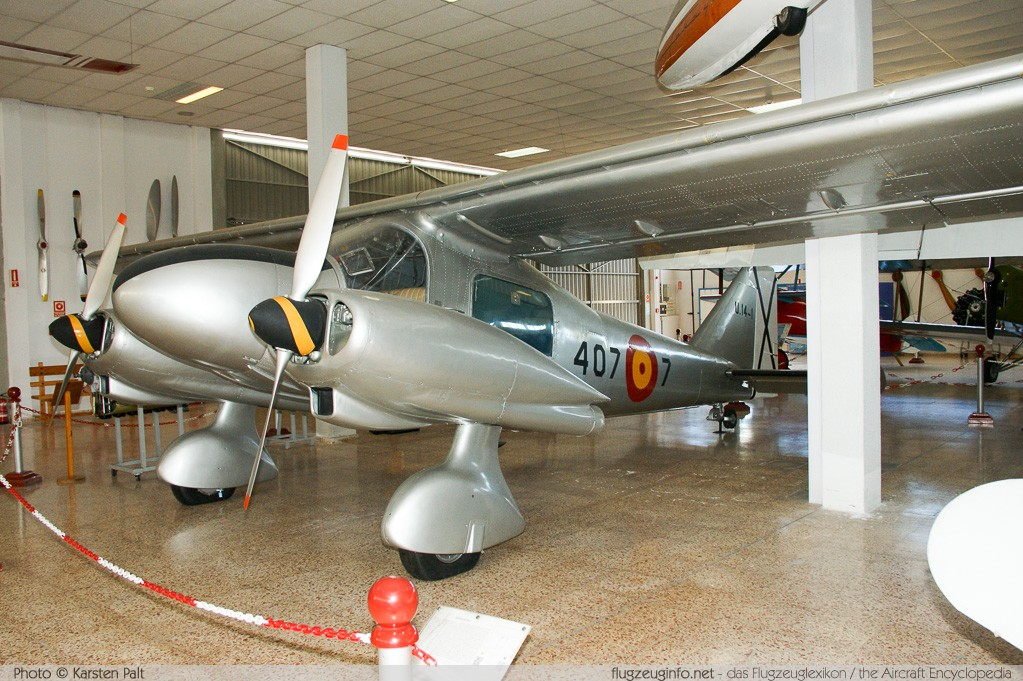 Dornier Do 28A-1 Spanish Air Force U.14-1 3014 Museo del Aire Madrid 2014-10-23 � Karsten Palt, ID 10664