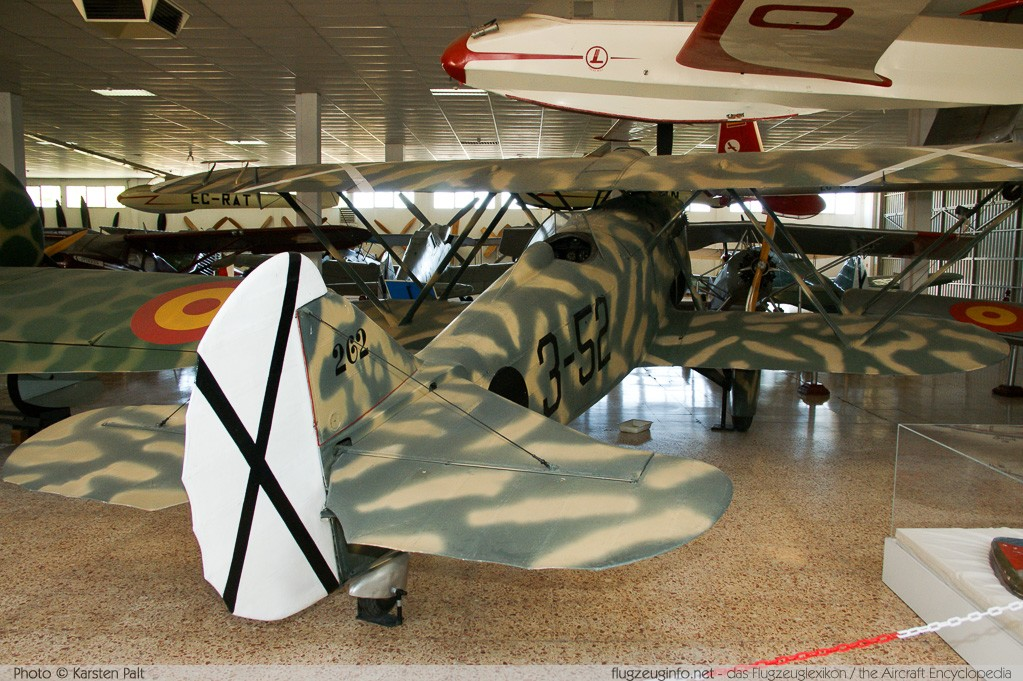 Fiat CR.32 Spanish Air Force C.1-262 262 Museo del Aire Madrid 2014-10-23 � Karsten Palt, ID 10675