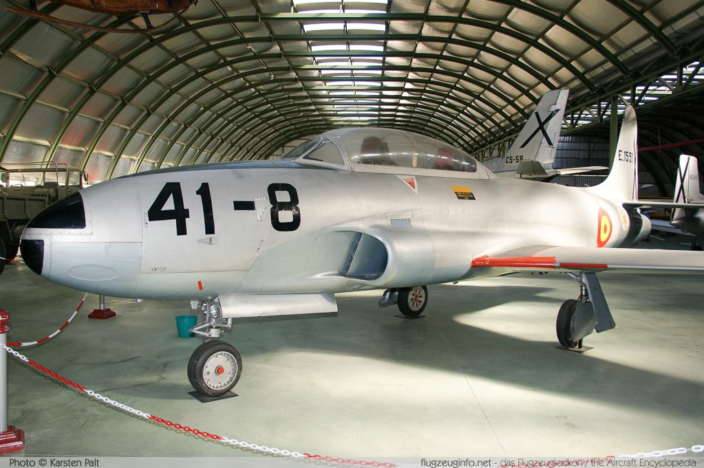 Lockheed T-33A Spanish Air Force E.15-51 580-860 Museo del Aire Madrid 2014-10-23 � Karsten Palt, ID 10700
