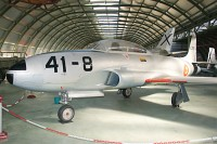 Lockheed T-33A Spanish Air Force E.15-51 580-860 Museo del Aire Madrid 2014-10-23, Photo by: Karsten Palt