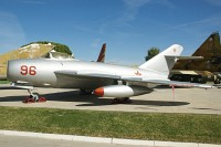 Mikoyan Gurevich MiG-17F Bulgarian Air Force 42 39-3851 Museo del Aire Madrid 2014-10-23, Photo by: Karsten Palt