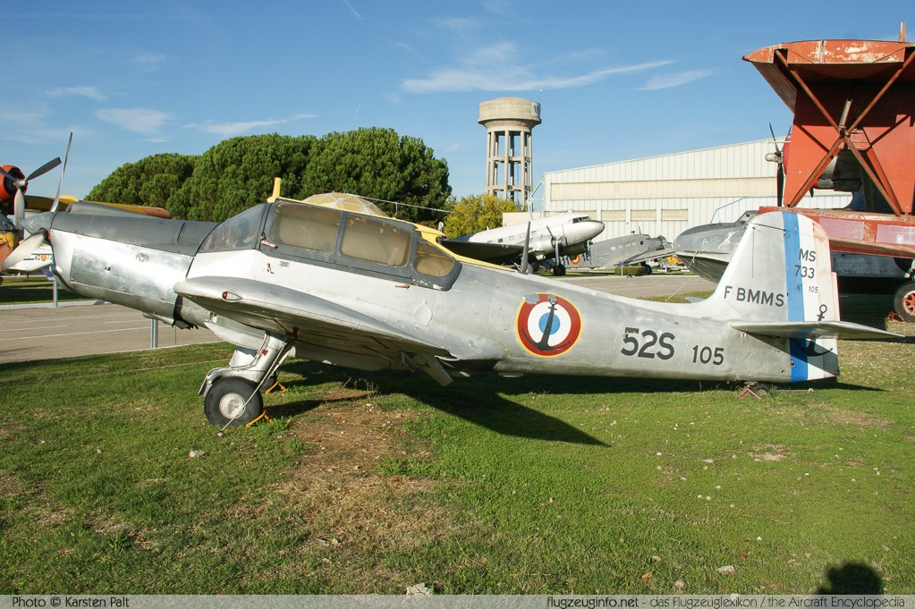 Morane-Saulnier M.S.733 Alcyon French Navy F-BMMS 105 Museo del Aire Madrid 2014-10-23 � Karsten Palt, ID 10714